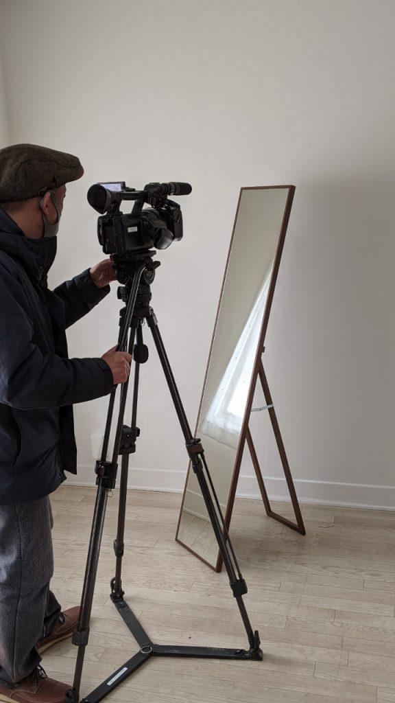 千代木工SOLリブラSENNOKIセンノキミラー和室おしゃれ木枠姿見日本製鏡